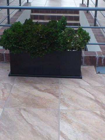 Jardinera rectangular macetas en fibra de vidrio - Jardineras de fibra de vidrio ...